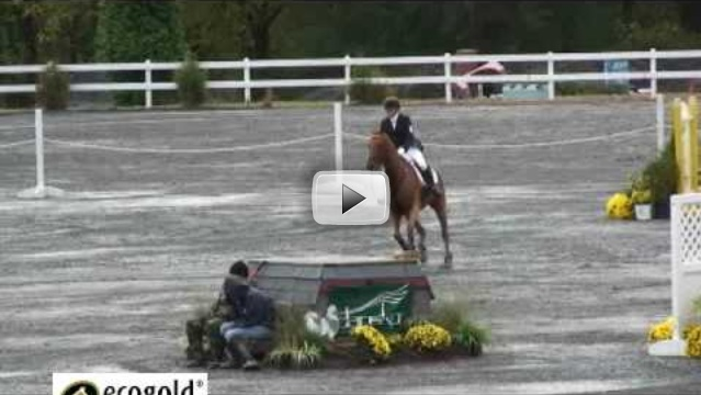 Hannah Burnett and St. Barts Show Jumping