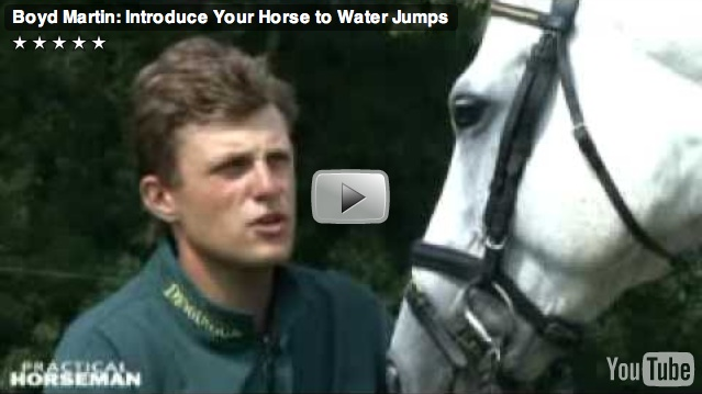 Introduce Your Horse to Water Jumps with Boyd Martin