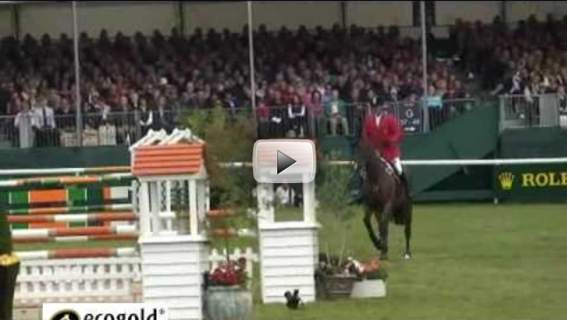 Phillip Dutton and Tru Luck Show Jumping Burghley